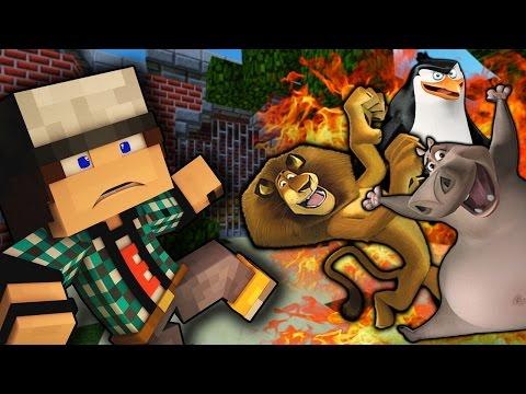 Мадагаскар звери мультфильм
