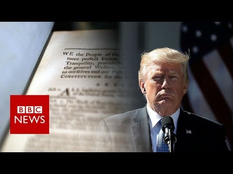 The 25th Amendment: Could it be used to unseat Trump? - BBC News