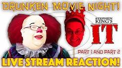 DRUNKEN MOVIE NIGHT! Stephen King's It 1990 - LIVE STREAM REACTION!