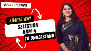 This video contains explanation of selection, definition, meaning and features selection process, steps for process. the notes us...