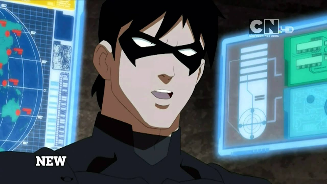 Cartoon Network Uk Hd Young Justice Invasion Promo Version 2 Youtube