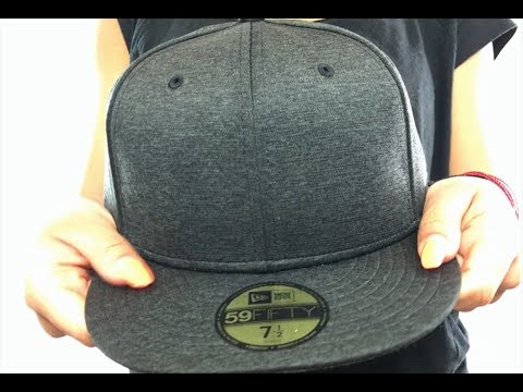 7193469e91699 New Era  59FIFTY-BLANK  Black Shadow Tech Fitted Hat - YouTube