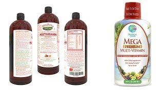 6 Best Liquid Vitamins And  Minerals
