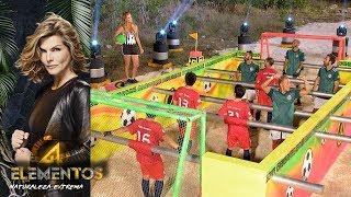 Futbolito Humano | #Reto4Vota | Reto 4 Elementos