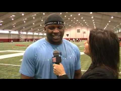 Leron McClain at Alabama Pro Day