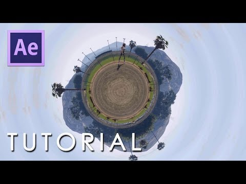 After Effects Tutorial: Create Revolve 360 Video