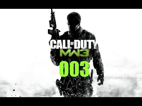 Call of Duty Modern Warfare 3 #003 - Neues Spielzeug Let´s Play Call of Duty MW 3