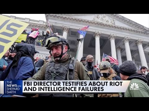 Jan. 6 riot an act of 'domestic terrorism,' according to FBI director Wray - CNBC Television