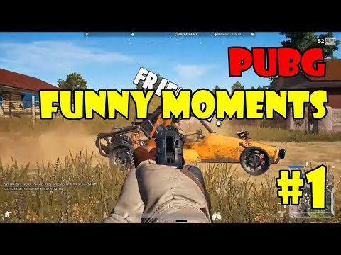 PUBG Funny Moments Highlights #1 (playerunknown's battlegrounds Plays)