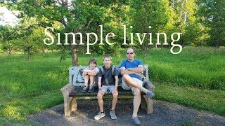 HUGE OAK TREE in magical forest SIMPLE LIVING MINIMALIST FAMILY FHD