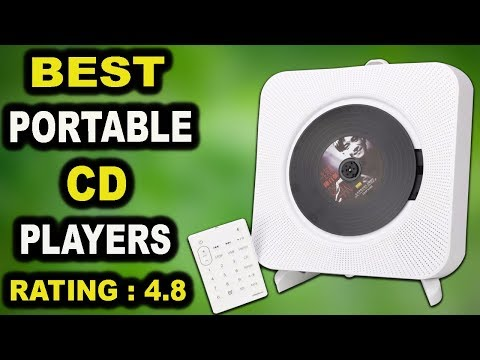 Best Portable CD Players 2019 | KECAG Remote Control CD Player