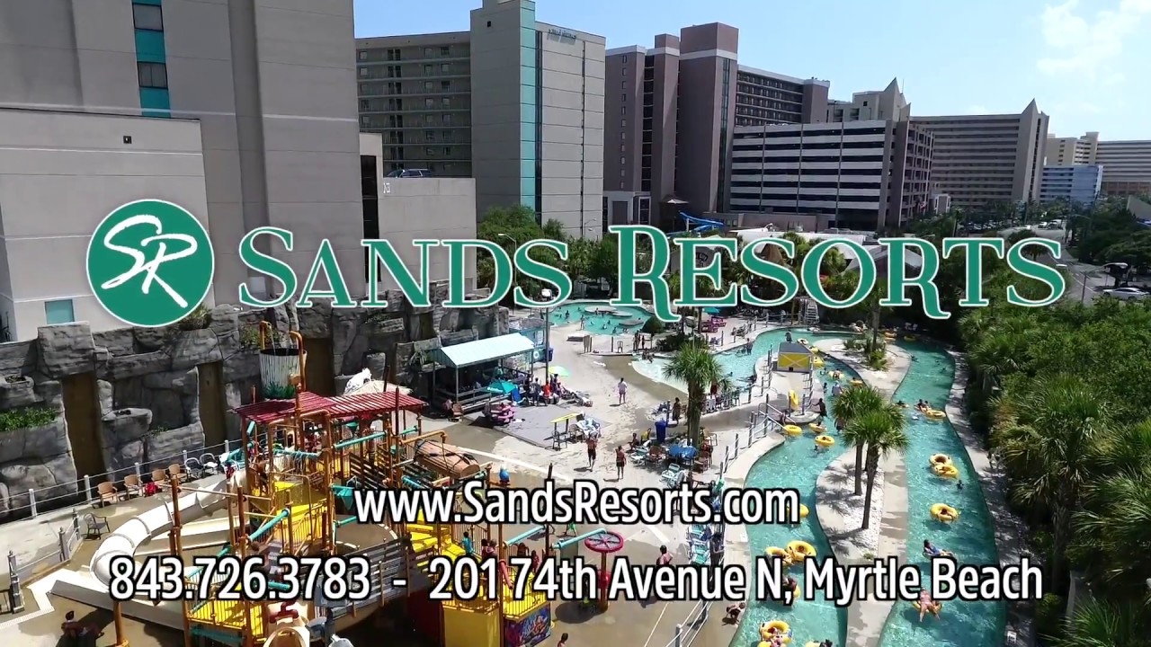 Waterpark - Sand Dunes Resort - Myrtle Beach - YouTube