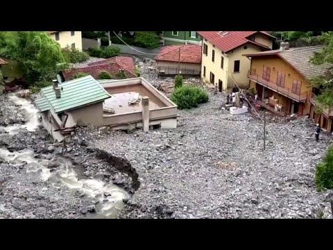 Starkregen verursacht Erdrutsche in Italien