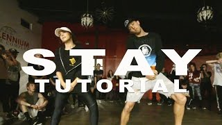 'STAY' - Zedd ft Alessia Cara Dance TUTORIAL | @MattSteffanina Choreography