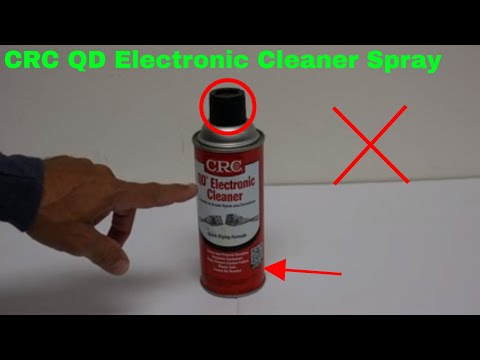 ✅  How To Use CRC QD Electronic Cleaner Spray Review