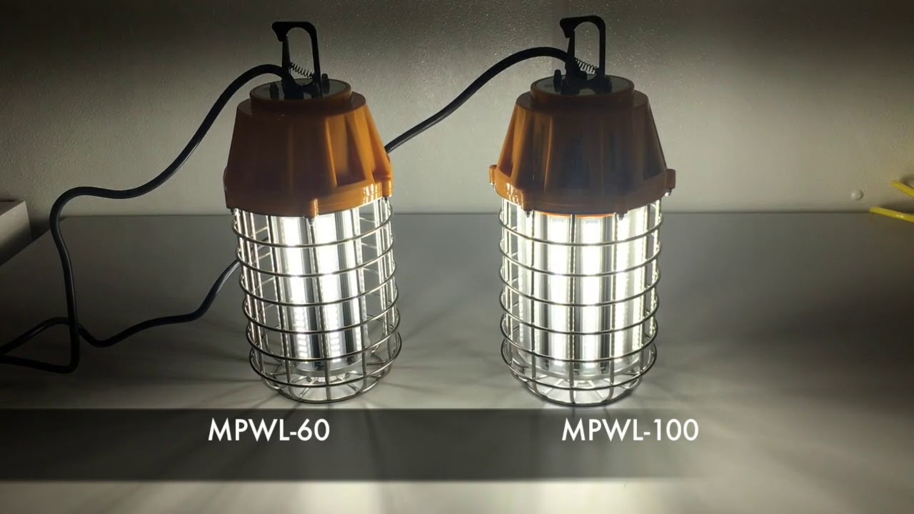 Maxxima Mpwl 60 And Mpwl 100 Led Work Lights