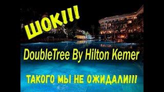 Турция 2020 ШОК Шведский стол по новым правилам в отеле DoubleTree By Hilton Antalya Kemer
