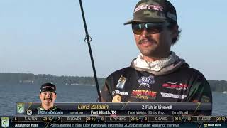 2020 Bassmaster LIVE at Lake Eufaula Day 2 Part 1