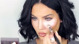 Natalie Halcro Tutorial | UNDER EYE HIGHLIGHT