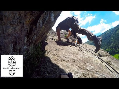 Klettersteig Rating : Tour: todtnauer klettersteig 3 kameras cut youtube