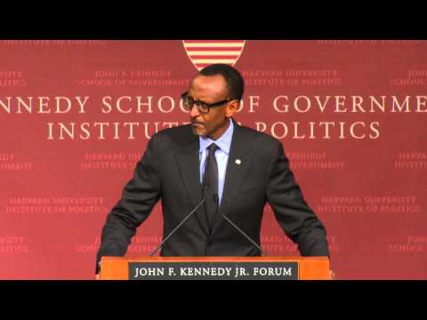 A Public Address by His Excellency Paul Kagame