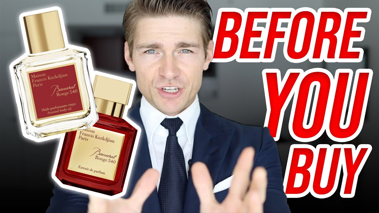 BEFORE YOU BUY Baccarat Rouge   Jeremy Fragrance