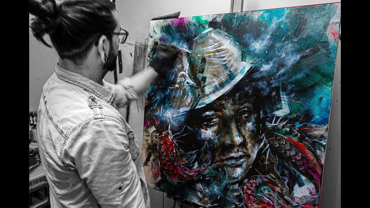 Yann Lemieux - Timelapse painting