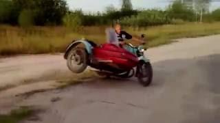 Лучшие приколы на мотоцикле с коляской