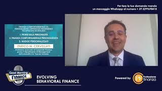 Enrico Maria Cervellati introduce la finanza comportamentale 3.0