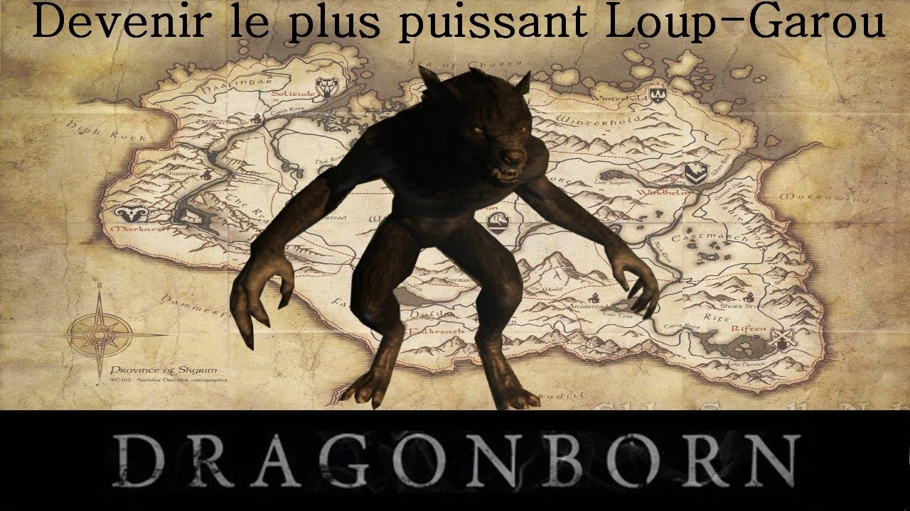 skyrim devenir le plus puissant loup garou gr ce aux anneaux de transformation youtube. Black Bedroom Furniture Sets. Home Design Ideas