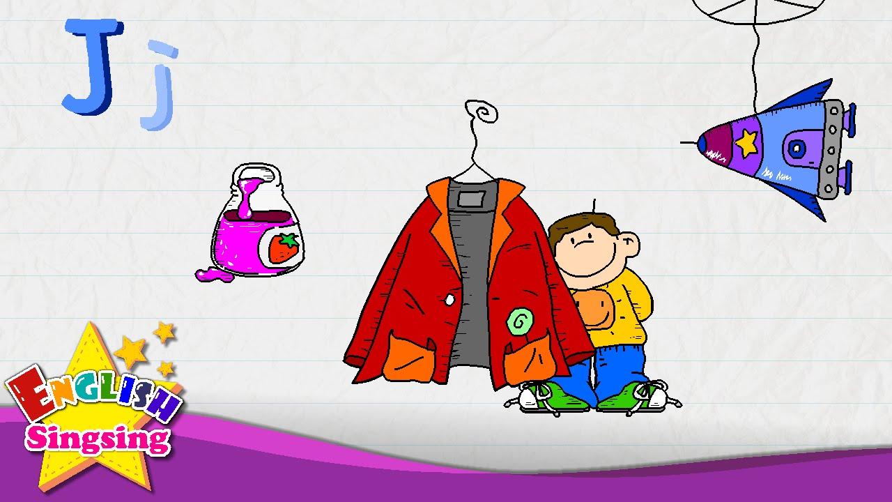 Worksheet Learning The Letter J j is for jacket jam jet letter alphabet song learning english kids youtube