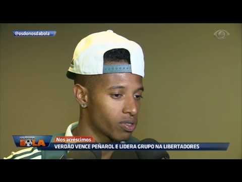Verdão Vence Peñarol E Lidera Grupo Na Libertadores