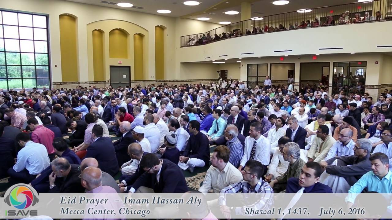 Eid prayer Mecca July 6, 2016, Khutbah by Sheikh Hassan Aly