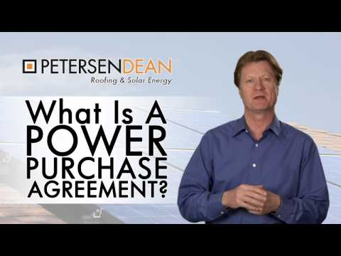 What is a Solar Power Purchase Agreement (PPA)?