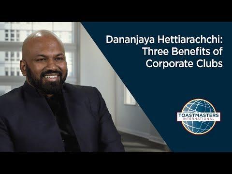 Dananjaya Hettiarachchi: Three Benefits of Corporate Clubs