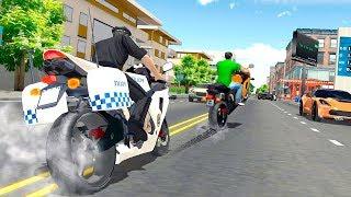 Police Bike Racing Free - Gameplay Android game - police motorbike game
