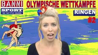 Ringen Wrestling De Lucha Libre #2 - Olympic Wettkampf - Original Banni Sport Fan Style & Make-up