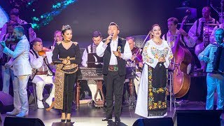 Andra &amp Sandel &amp Aurora - Ma Mandresc Ca Sunt Roman (Concert Traditional)