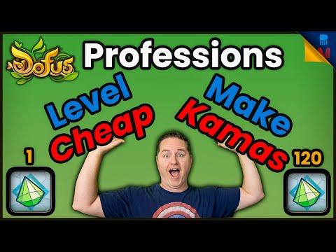 Dofus How To Make Kamas & Level Jeweller Profession CHEAP! Echo & Ilyzaelle Lists! Levels 1 to 120!