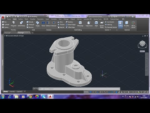 AutoCAD 2015 3D/ORIYANE:Create Rip