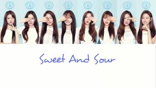 【認聲版+中字】Lovelyz (러블리즈) - Sweet And Sour 酸酸甜甜