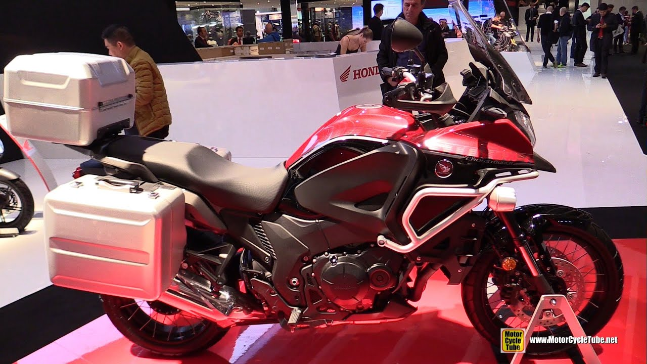 2016 honda crosstourer dct 1250 travel edition   walkaround   2015 eicma milan   youtube