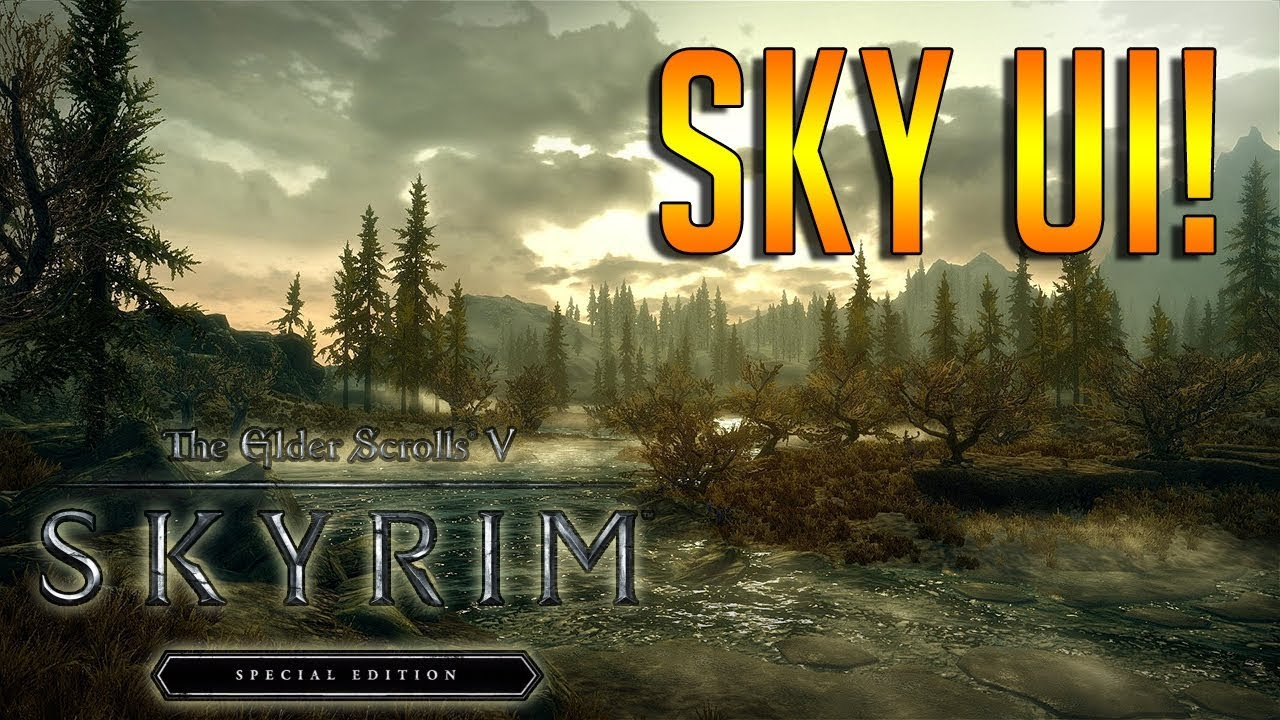 How To Install SKSE & SKYUI Skyrim Special Edition
