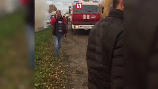 Автобус столкнулся с легковушкой под Псковом