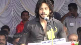 Namitha & Bharath Speak at Film Industry Protest Against Service Tax | 555 | Latest Tamil Movie