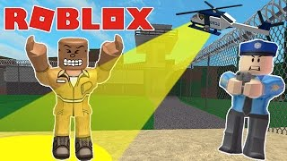 ESCAPING FROM PRISON IN ROBLOX