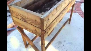 Making A Raised Bed From An Old Planter