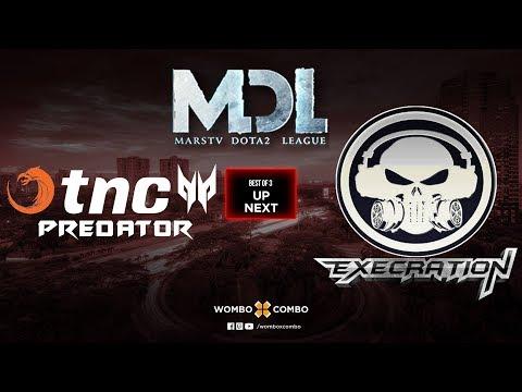 TNC Predator vs Execration Game 2 | MDL Changsha SEA Qualifiers (Bo3)