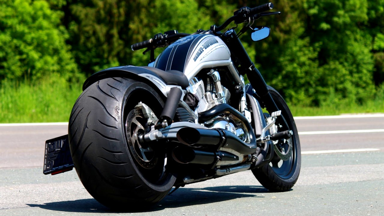 ⭐️ Harley Davidson V-Rod muscle Custom Bike by SMC Design 1