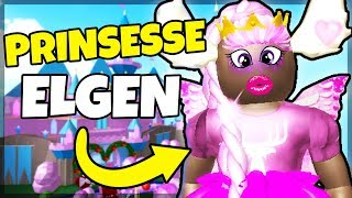 ELK AS the PRINCESS! -Danish Roblox: Royale high School Beta